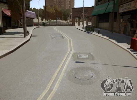 New Roads para GTA 4 quinto tela