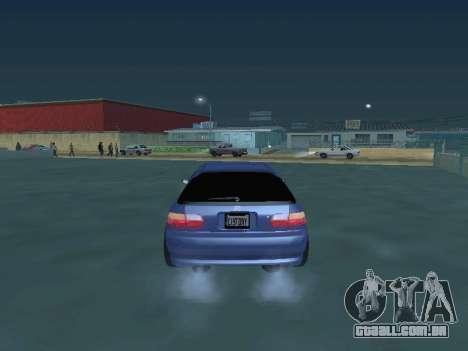 Honda Civic (EG6) 1994 para GTA San Andreas vista direita