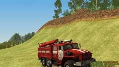 Ural 4320 bombeiro para GTA San Andreas