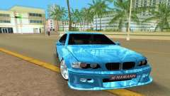 BMW M3 E46 Hamann para GTA Vice City