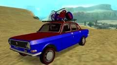 GAZ-24 Volga divertido para GTA San Andreas