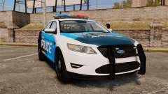 Ford Taurus 2010 Police Interceptor Detroit para GTA 4