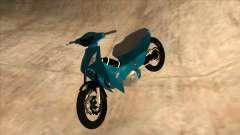 Honda 125cc Tuning para GTA San Andreas