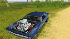 Plymouth Barracuda Supercharger para GTA Vice City