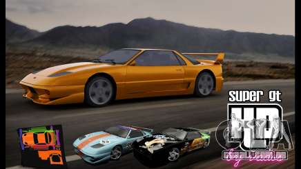 Super GT HD para GTA San Andreas