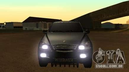 SsangYong New Kyron 2013 para GTA San Andreas