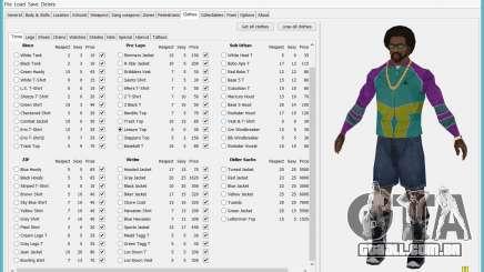 Savegame Editor v3.2 para GTA San Andreas