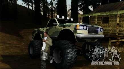 Camuflagem para monstro para GTA San Andreas