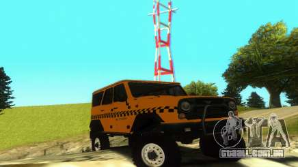 UAZ Hunter táxi para GTA San Andreas