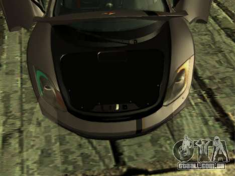 McLaren MP4-12C WheelsAndMore para vista lateral GTA San Andreas