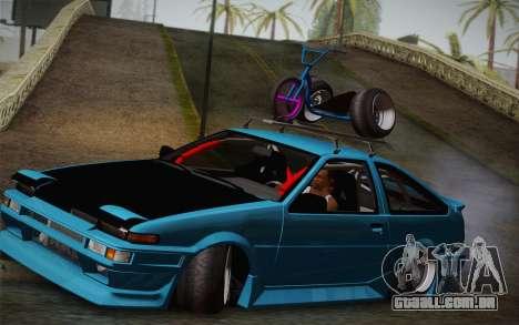 Toyota Corolla AE86 Helladrift para GTA San Andreas