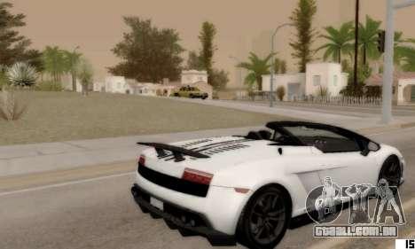 VI ENB para PCs de baixo para GTA San Andreas segunda tela