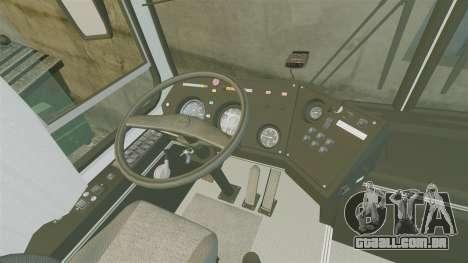 LIAZ-5256 45-01 para GTA 4 vista de volta