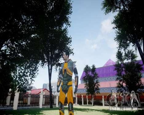 Gordon Freeman para GTA 4 sexto tela