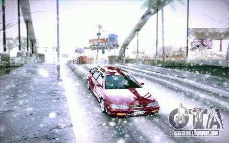 Honda Accord Wagon para vista lateral GTA San Andreas