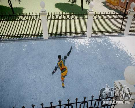 Gordon Freeman para GTA 4 décimo tela