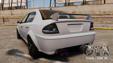 Ajuste o Premier versão para GTA 4 traseira esquerda vista