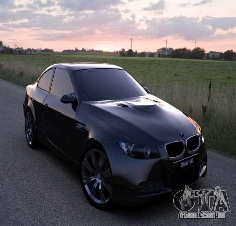 Tela de boot do BMW para GTA 4 por diante tela