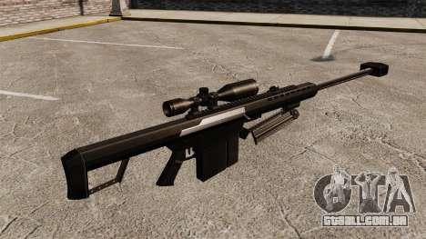 O Barrett M82 sniper rifle v2 para GTA 4 segundo screenshot