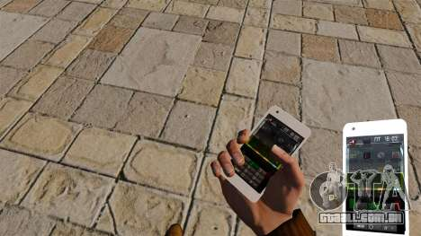 Teclado Samsung Galaxy S2 para GTA 4 segundo screenshot