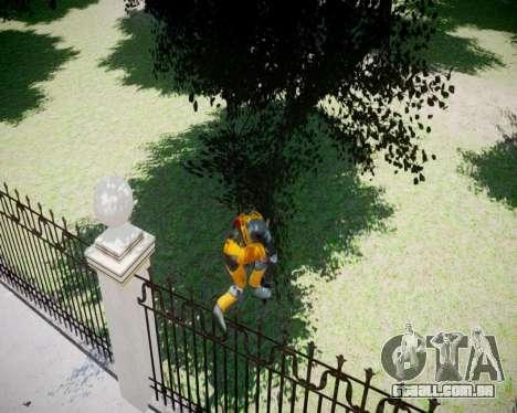 Gordon Freeman para GTA 4 quinto tela