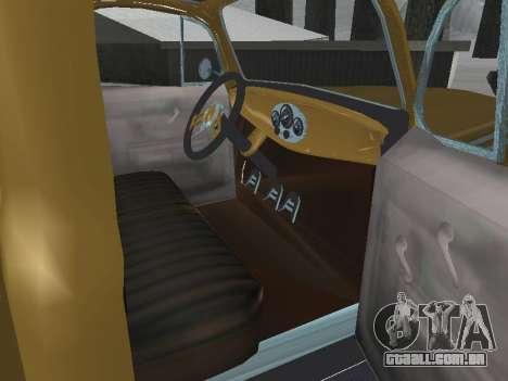 Ford Frieghter 1949 para GTA San Andreas vista interior