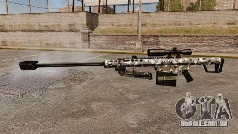 O Barrett M82 sniper rifle v15 para GTA 4 terceira tela