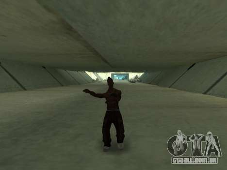 Eles dançam para GTA San Andreas quinto tela