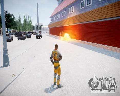 Gordon Freeman para GTA 4 por diante tela