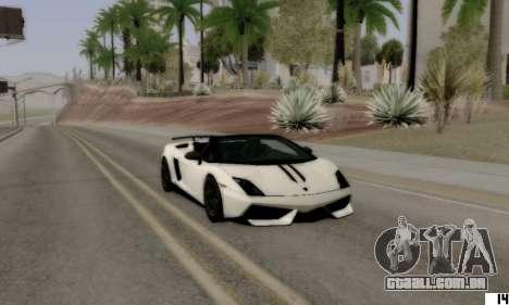 VI ENB para PCs de baixo para GTA San Andreas terceira tela