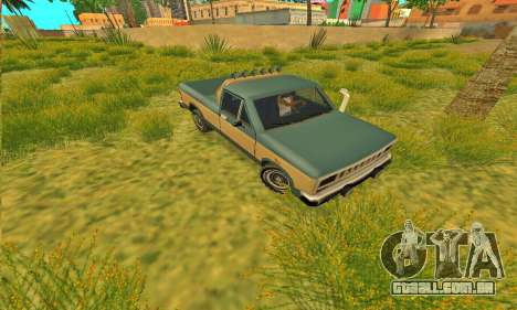 Bobcat armadura Off-Road para GTA San Andreas