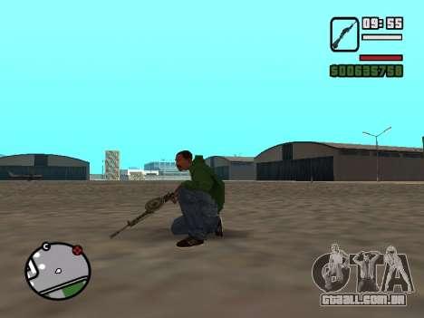 SDO para GTA San Andreas terceira tela