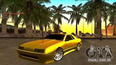 New Elegy para GTA San Andreas