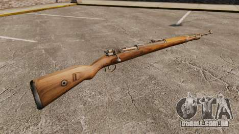Mauser Karabiner 98k repetindo rifle para GTA 4 segundo screenshot