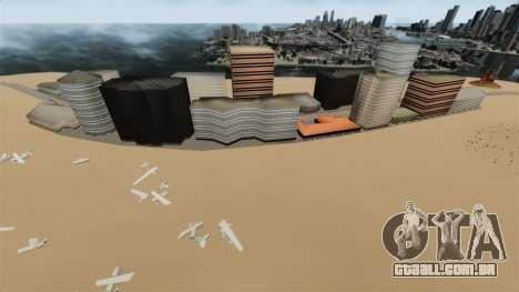 Destino cidade deserta para GTA 4 segundo screenshot
