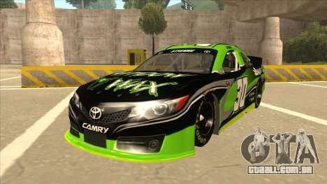Toyota Camry NASCAR No. 30 Widow Wax para GTA San Andreas