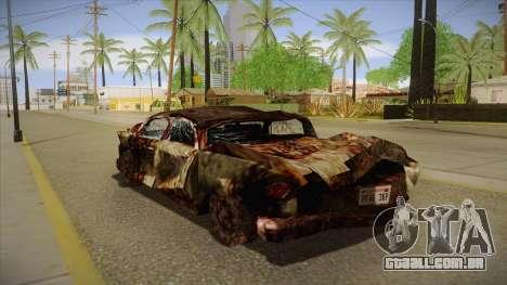 New Glenshit para GTA San Andreas traseira esquerda vista