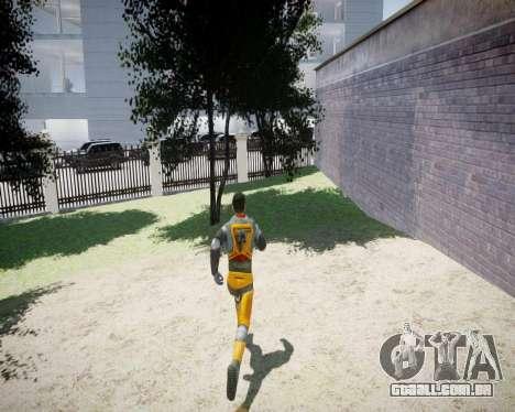 Gordon Freeman para GTA 4 oitavo tela