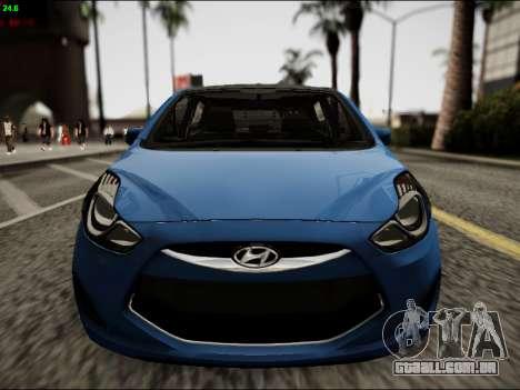 Hyundai ix20 para GTA San Andreas vista interior