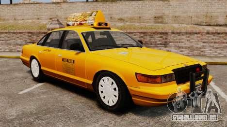 Taxi com novo disco v2 para GTA 4