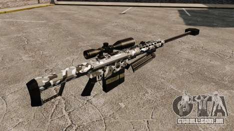 O Barrett M82 sniper rifle v15 para GTA 4 segundo screenshot