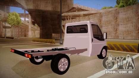 Ford Transit Drift Car para GTA San Andreas vista direita