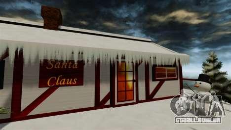 Ilha Christmas para GTA 4 por diante tela