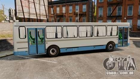 LIAZ-5256 45-01 para GTA 4 esquerda vista