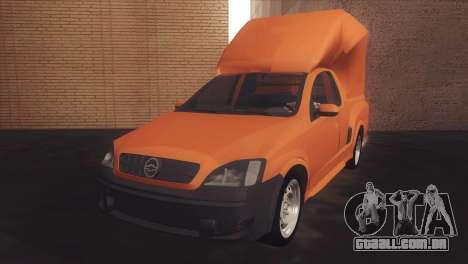 Chevrolet Montana Combo para GTA San Andreas