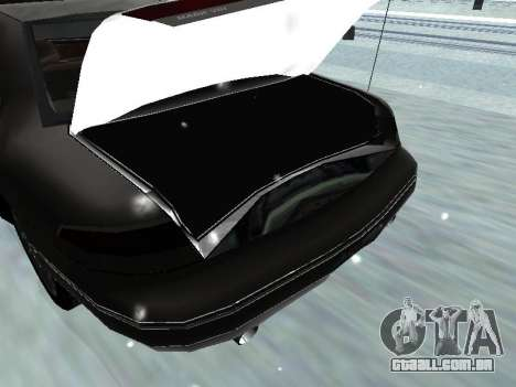 Lincoln Continental Mark VIII 1996 para GTA San Andreas vista superior