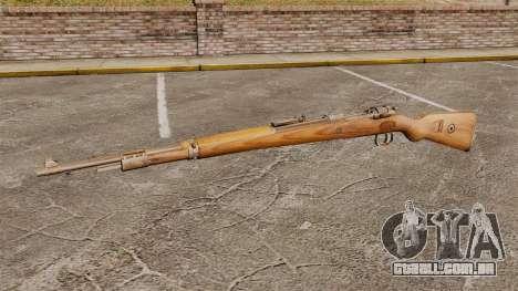Mauser Karabiner 98k repetindo rifle para GTA 4 terceira tela