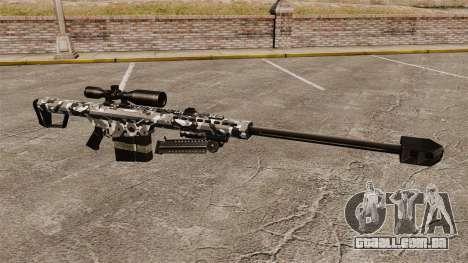 O Barrett M82 sniper rifle v15 para GTA 4