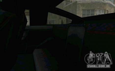 Blista Compact Type R para vista lateral GTA San Andreas