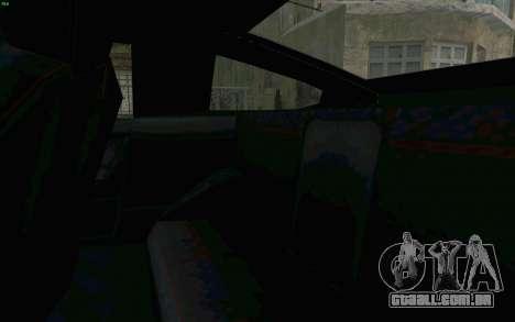 Blista Compact Type R para vista lateral GTA San Andreas